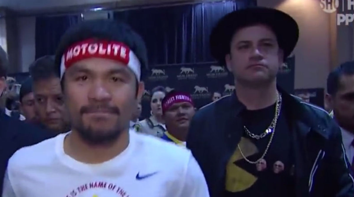 Jimmy Kimmel Talks About His Experience Walking Out With Manny Pacquiao