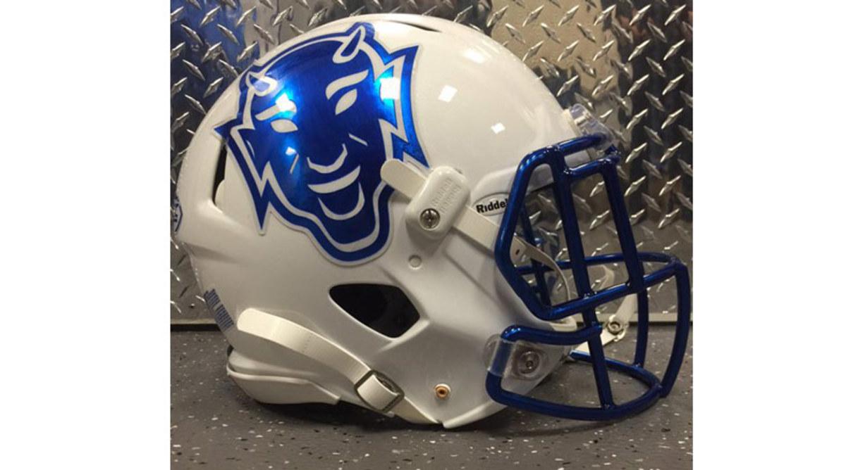 Duke Blue Devils alternate helmet