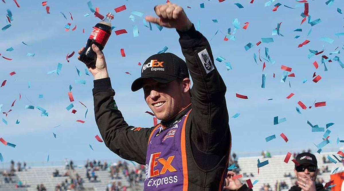 Denny Hamlin 2015 STP 500 Martinsville Speedway