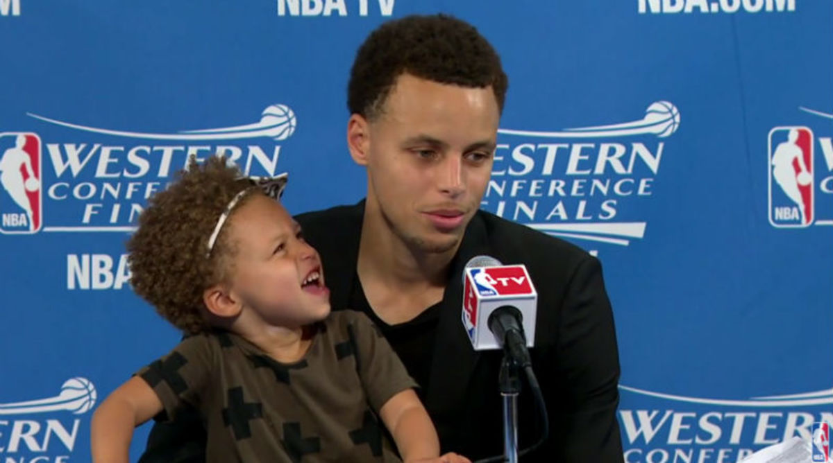 Steph Curry's Daughter Steals the Show