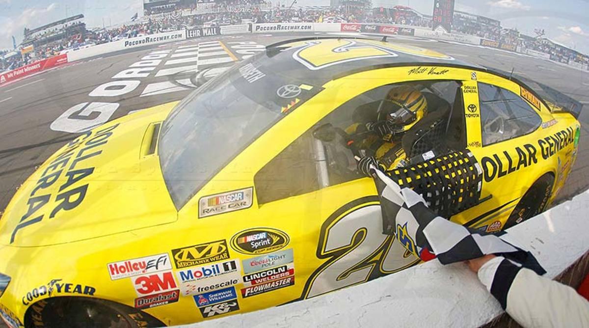 Matt Kenseth No. 20 Windows 10 400 Pocono Raceway