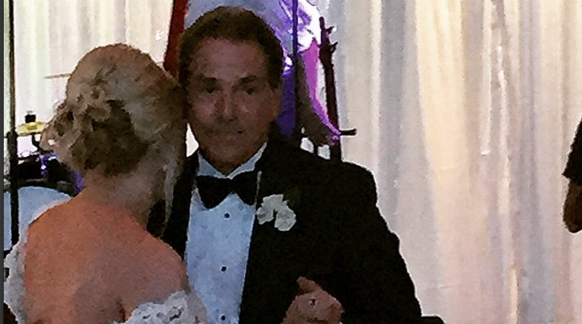 Nick Saban's Daughter Married in the Most Alabama Way