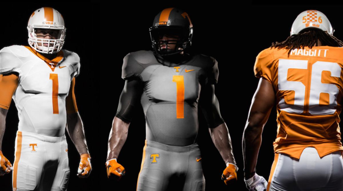 Nike Tennessee Volunteers Football Uniforms