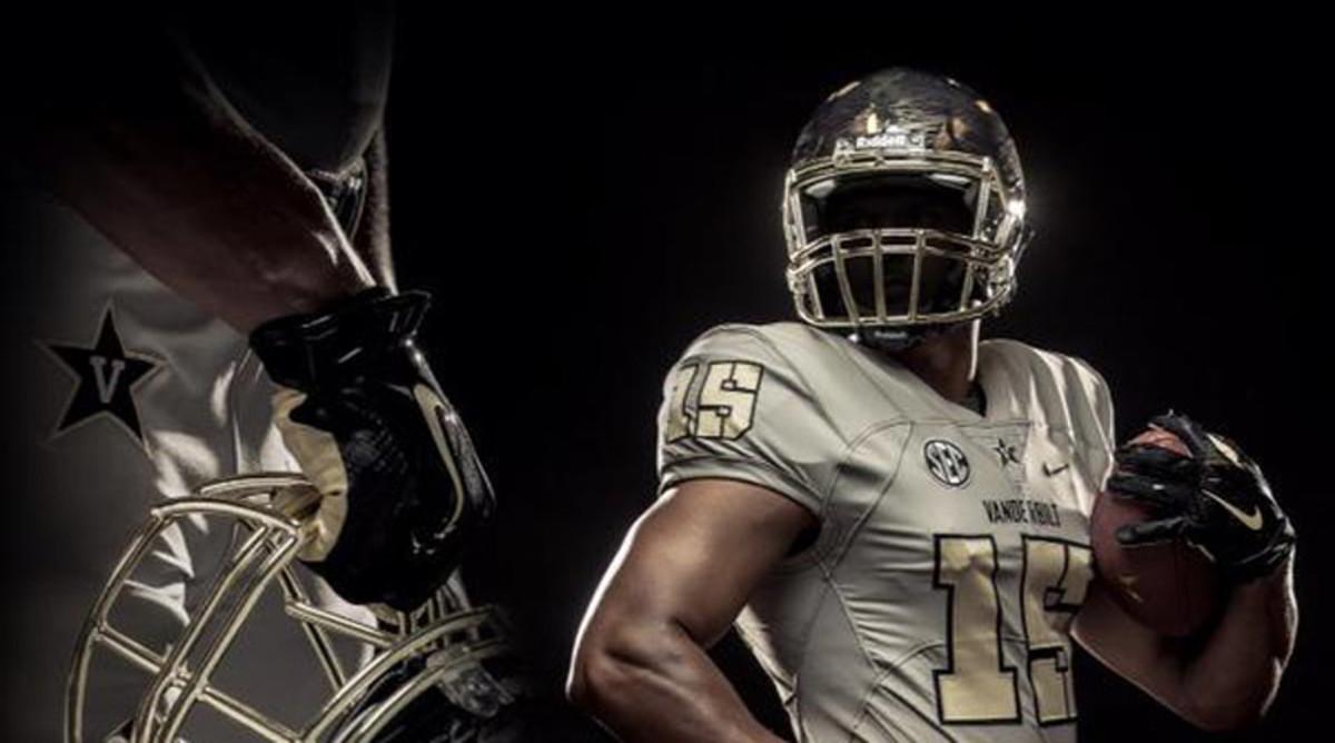 Vanderbilt Commodores 2015 alternate uniforms