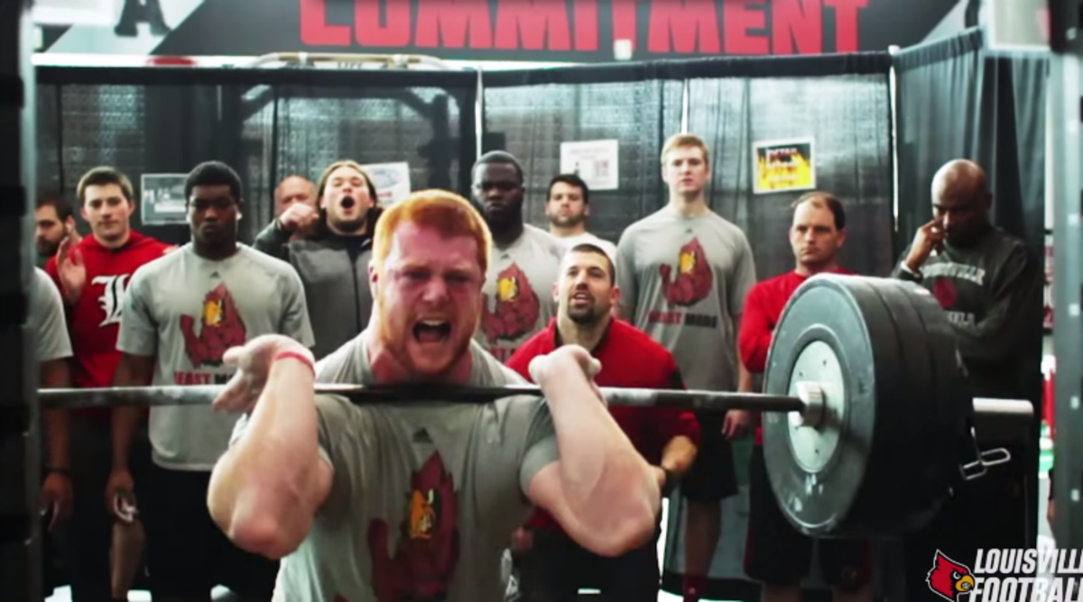 Louisville Goes Beastmode During Summer Workouts