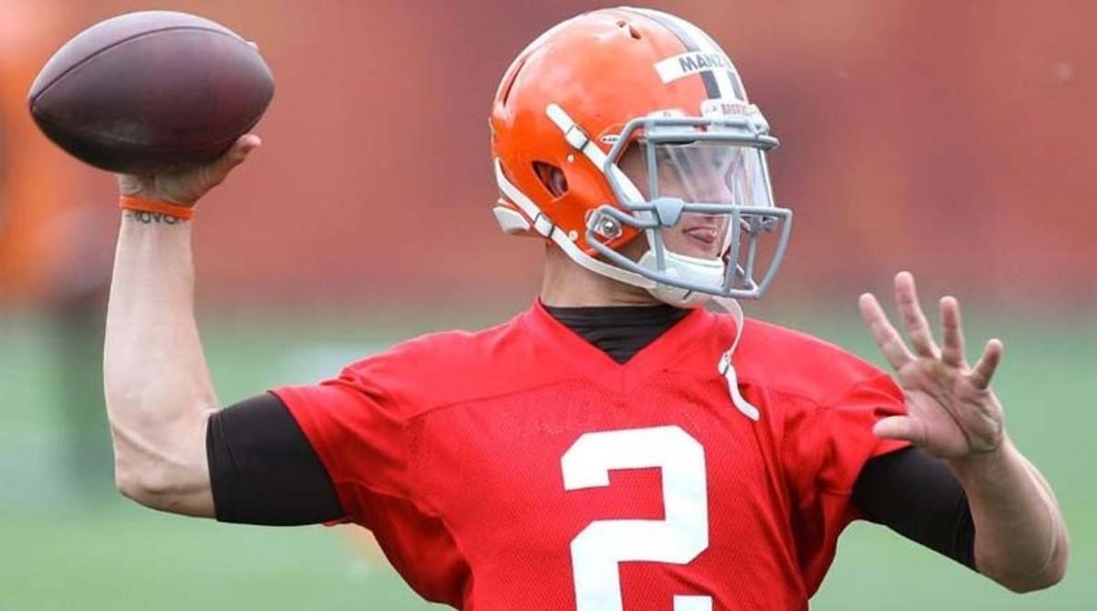 Johnny Manziel Gets Shutout in First NFL Start
