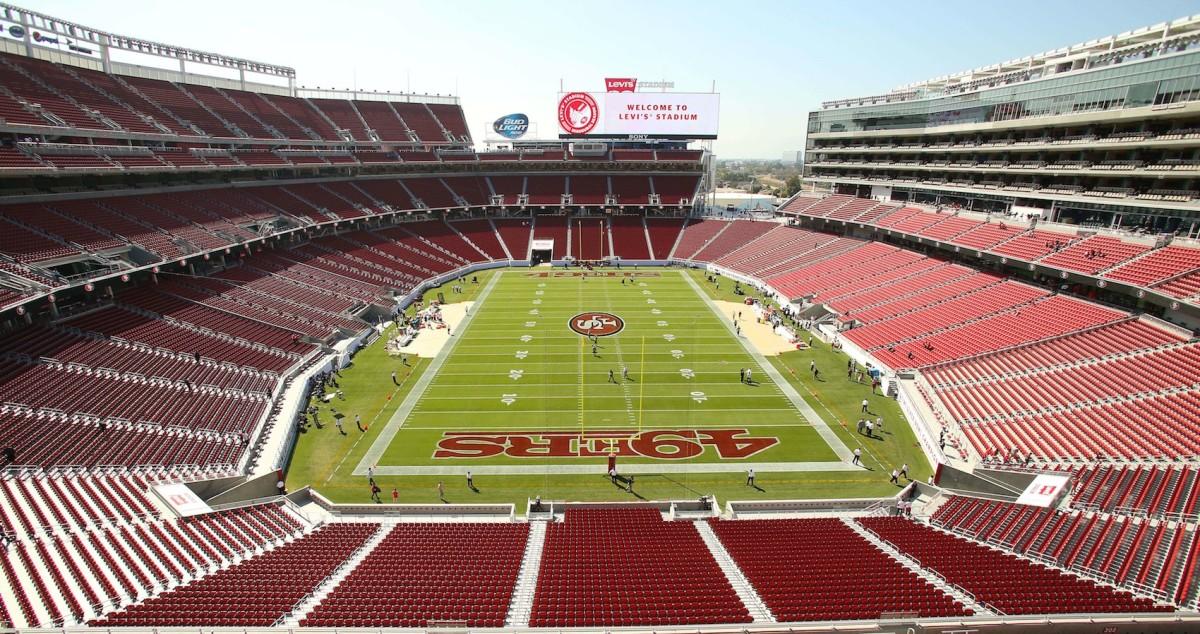 San Francisco 49ers' Levi Stadium