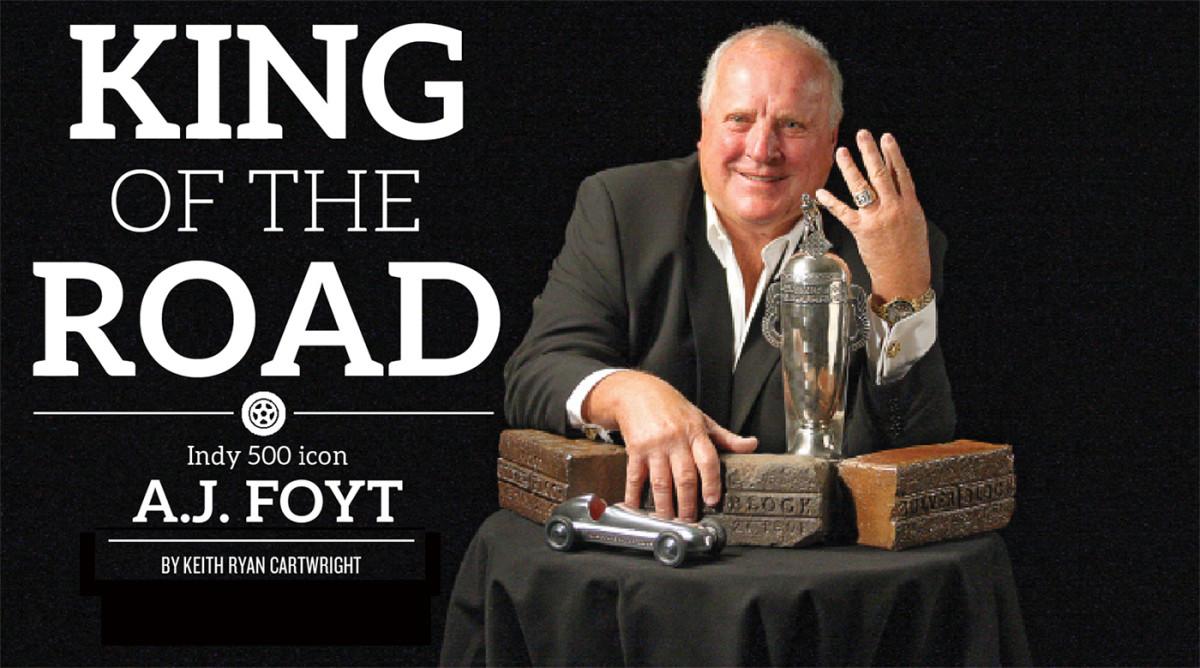 A.J. Foyt Talks Indy 500