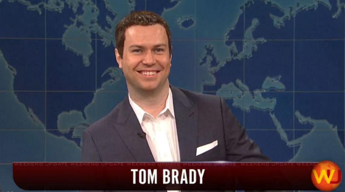'Saturday Night Live' Spoofs Tom Brady