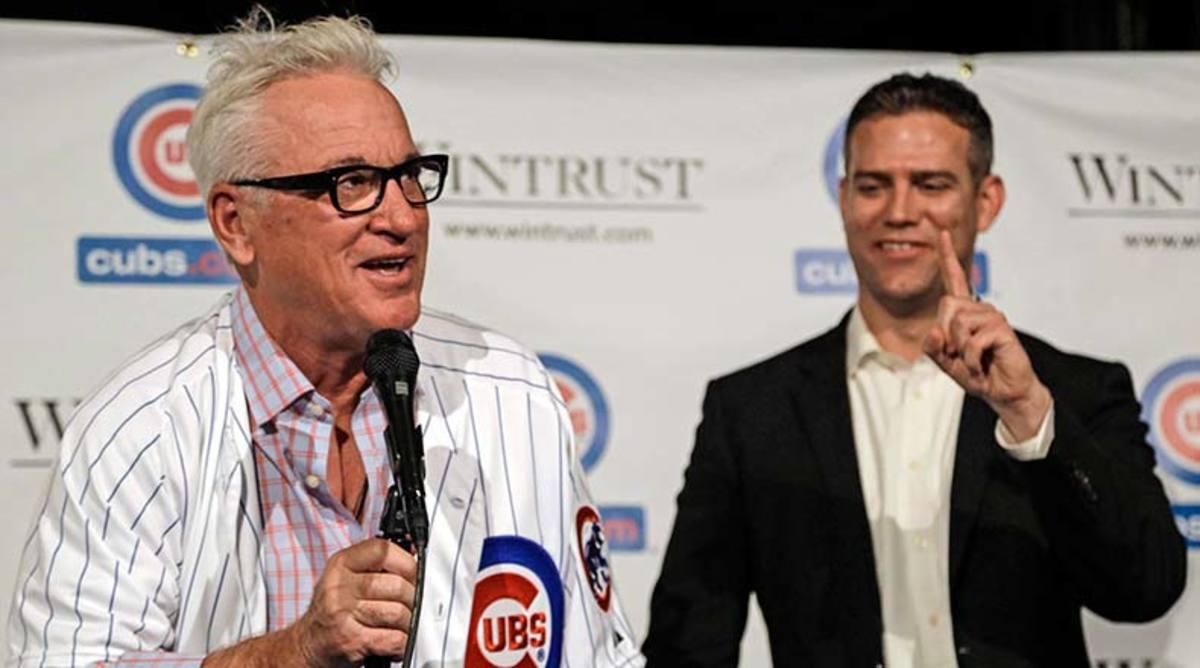 Joe Maddon Theo Epstein Chicago Cubs