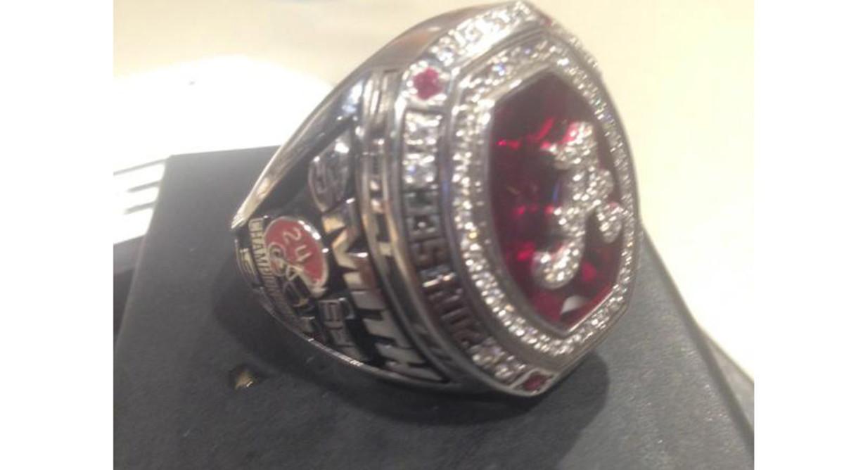 Alabama Crimson Tide SEC Championship ring