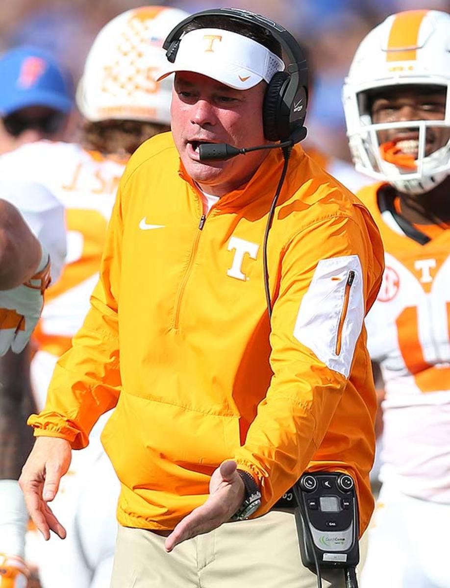 Tennessee Vols Head Coach Butch Jones