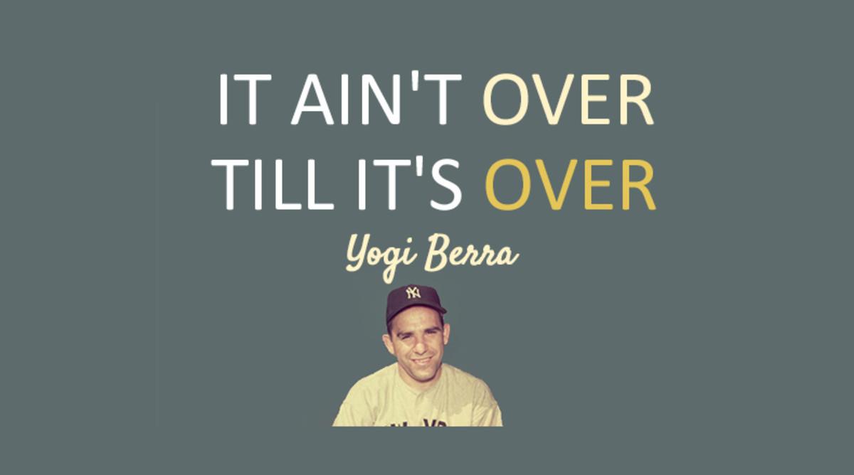 Yogi Berra's Best Quotes & Sayings