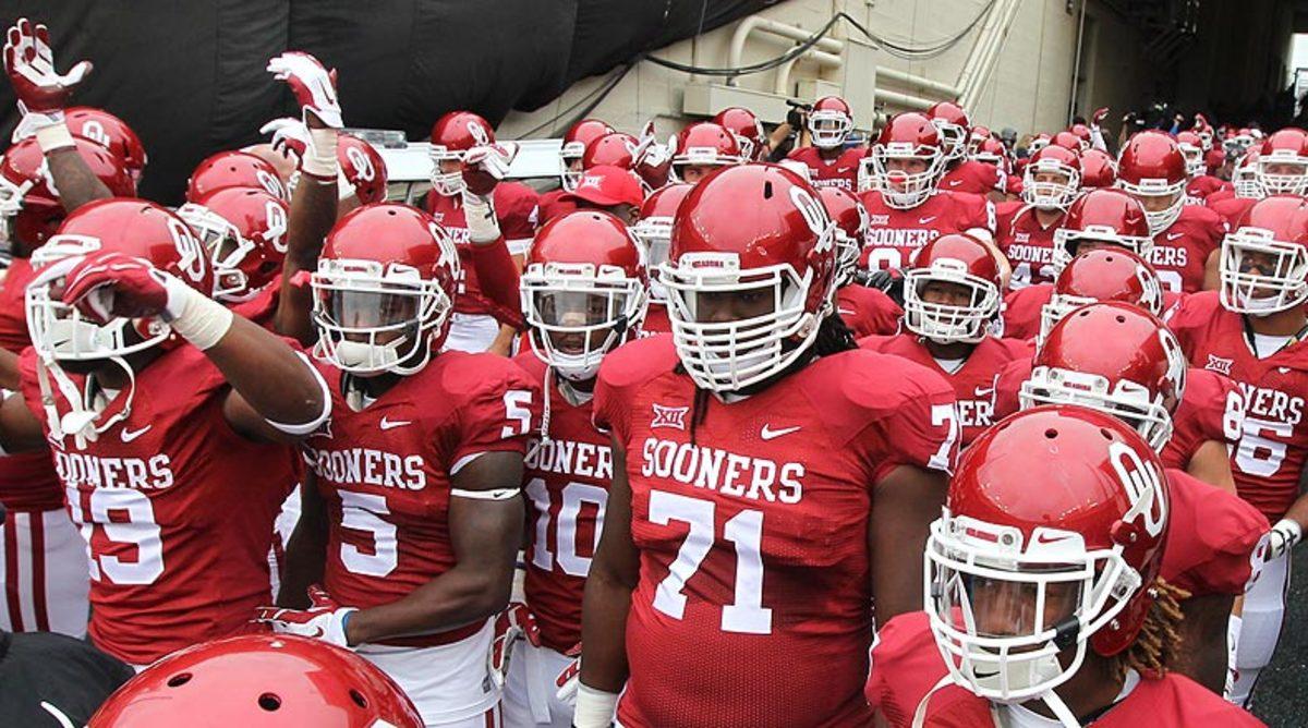 Oklahoma Sooners team