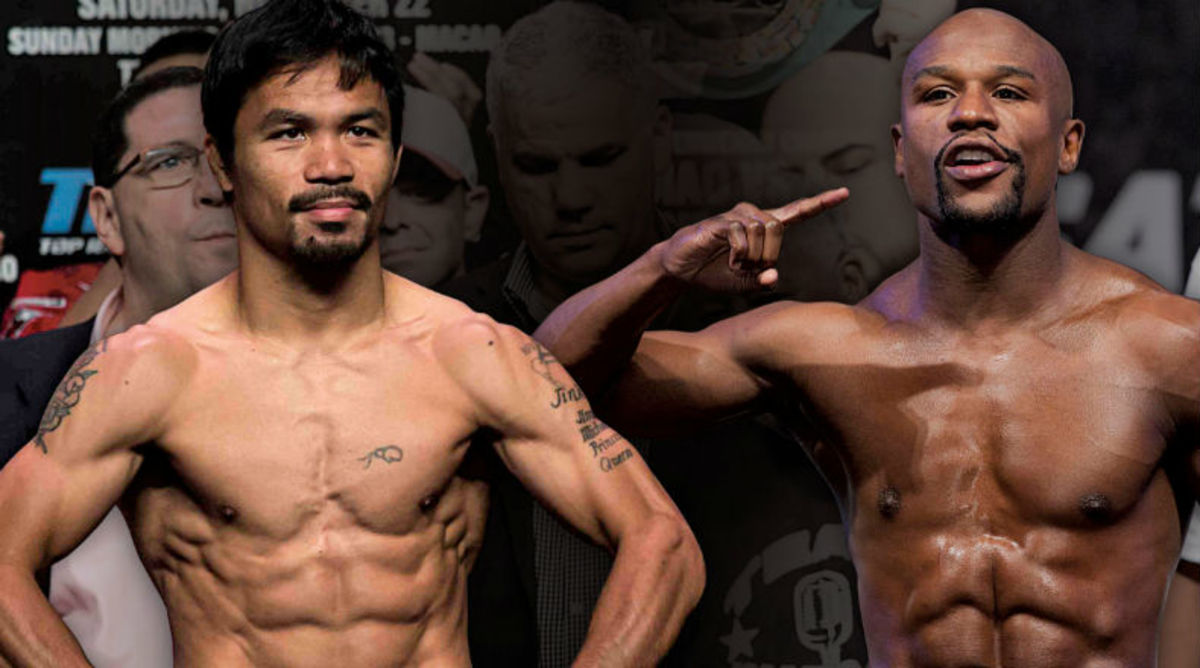 Flody Mayweather Takes Shot at Manny Pacquiao's 'Excuses'