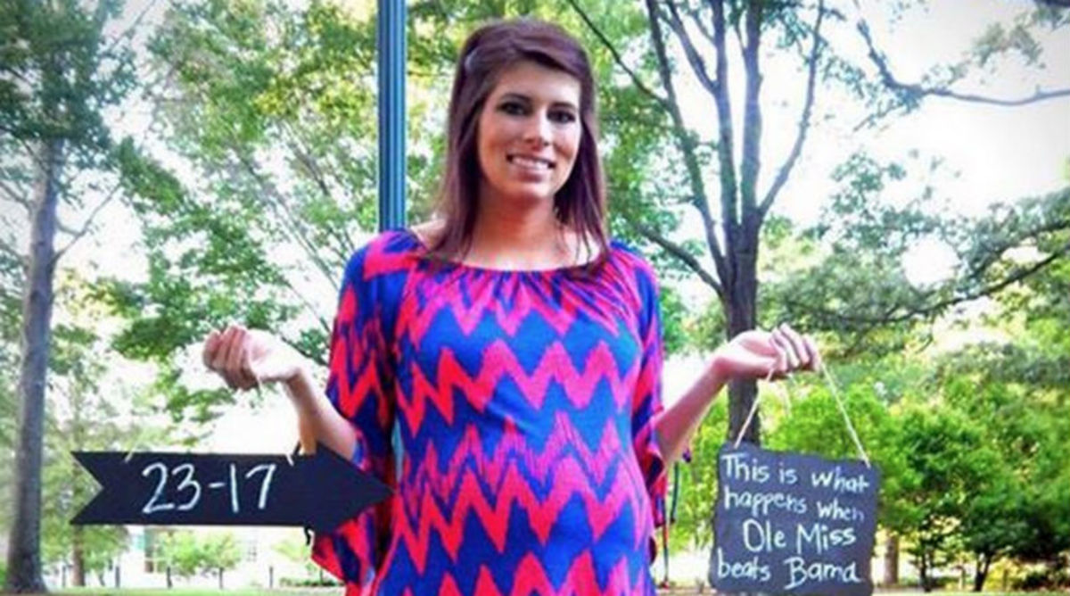 Ole Miss' Victory Over Alabama Results in Pregnancy