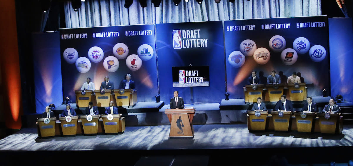 Wolves, Lakers, Sixers win big in NBA Draft lottery
