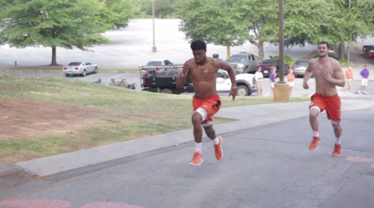 Clemson's Summer Workouts are Brutal