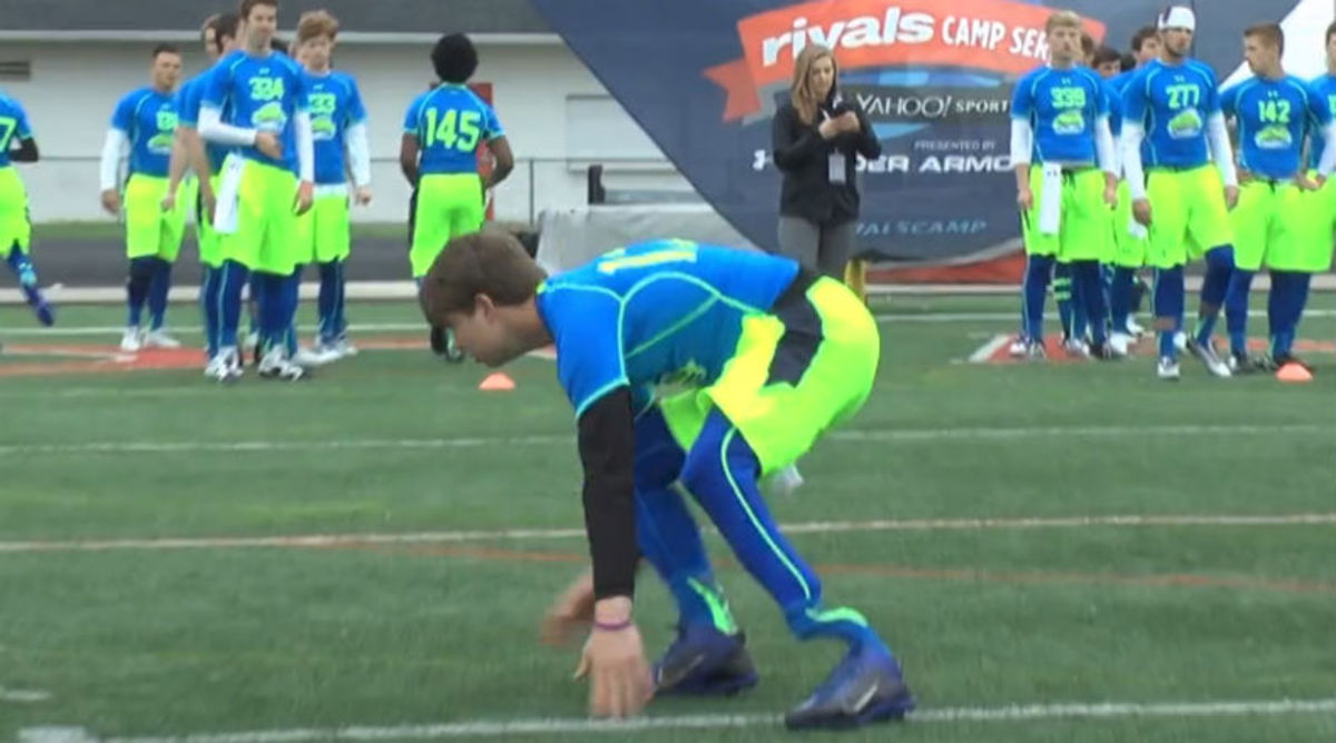 D.J. Vanderwerf is a 3-Sport Athlete with a Prosthetic Leg