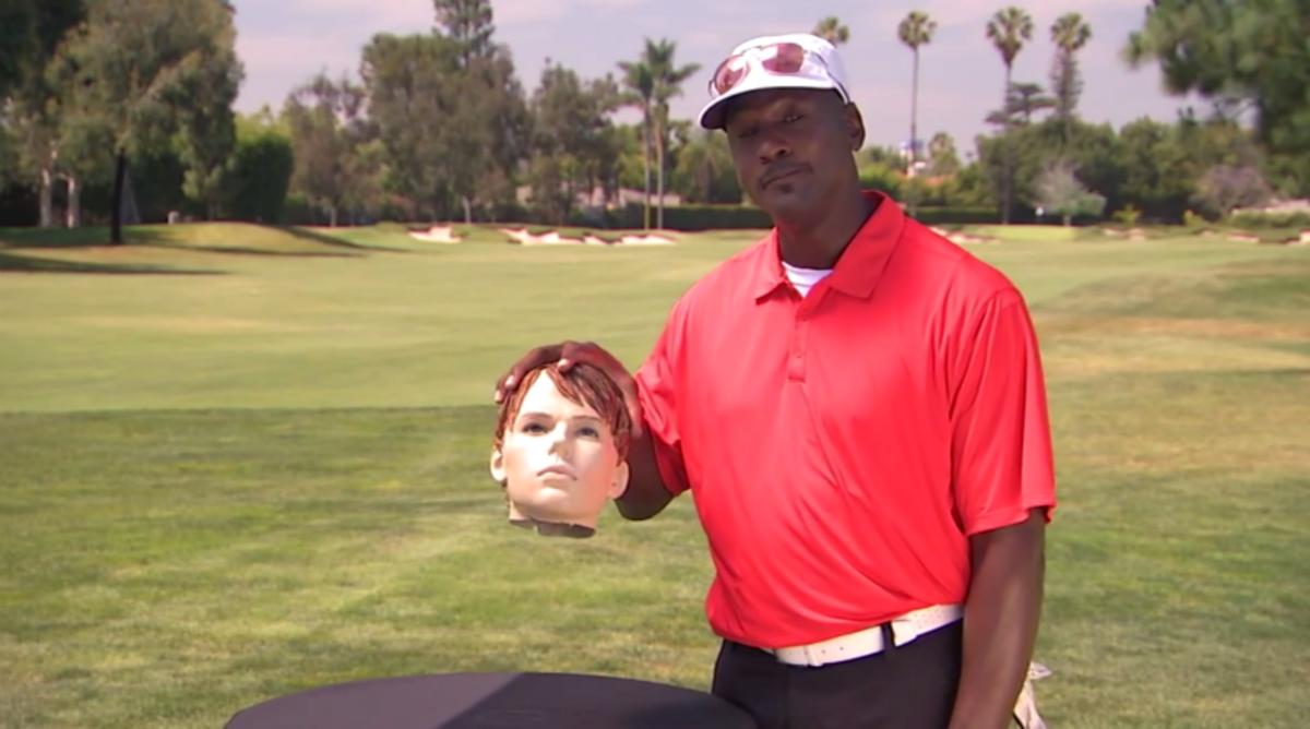 Michael Jordan Plays an Interesting Game on 'Jimmy Kimmel Live'