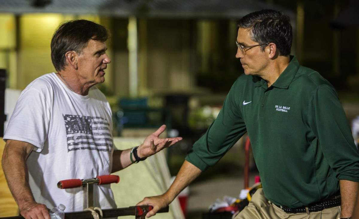 When the Game Stands Tall QA With Jim Caviezel and Coach Bob Ladouceur