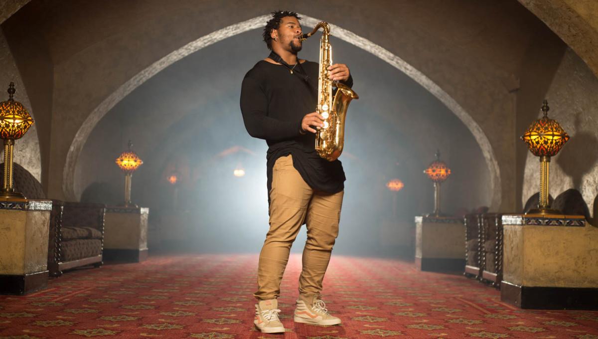 Robert Nkemdiche saxophone