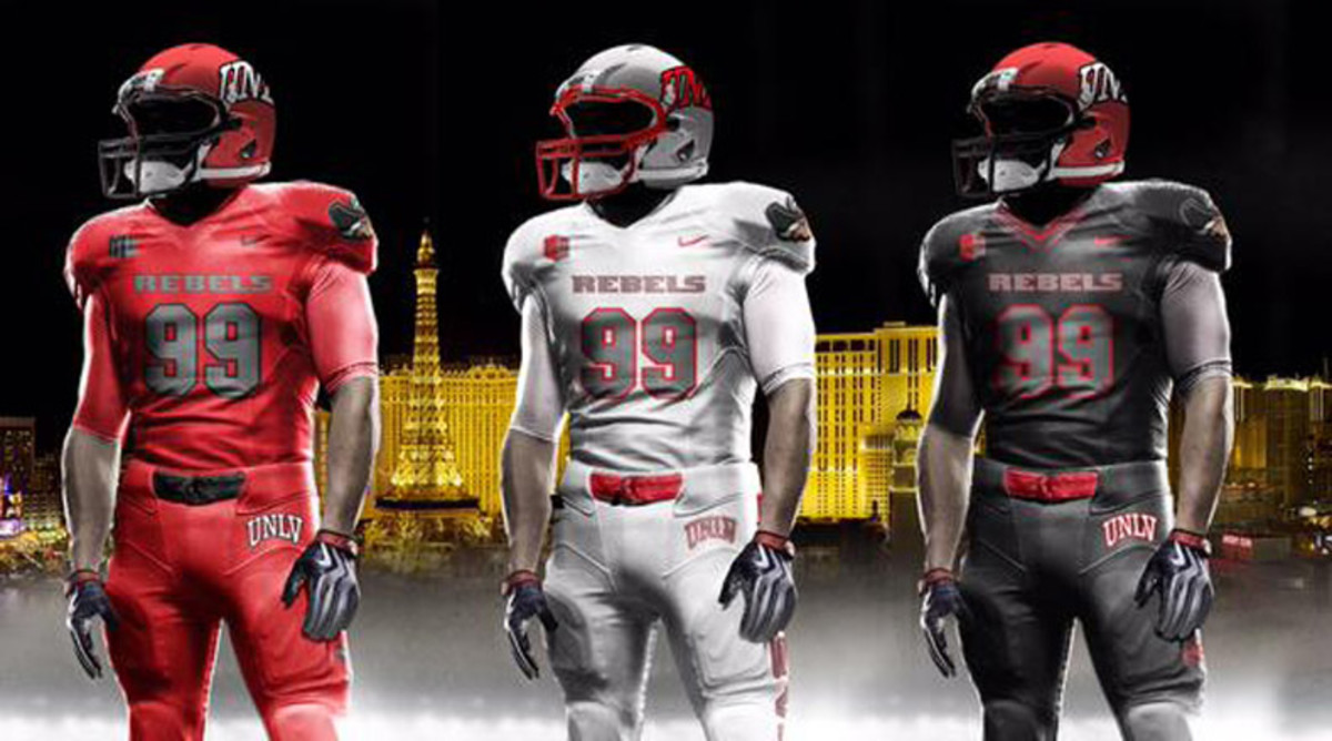 UNLV Rebels New Uniforms