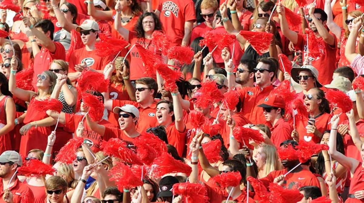 Georgia Bulldogs fans
