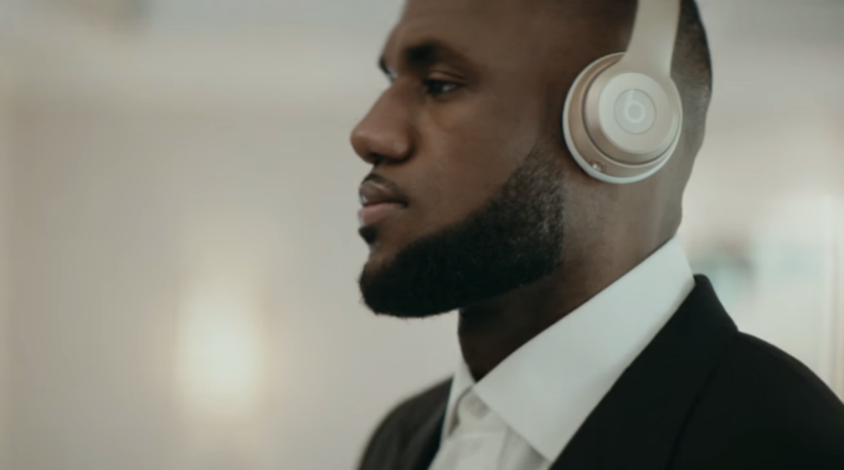 LeBron James Stars in Classy 'Beats by Dre' Ad