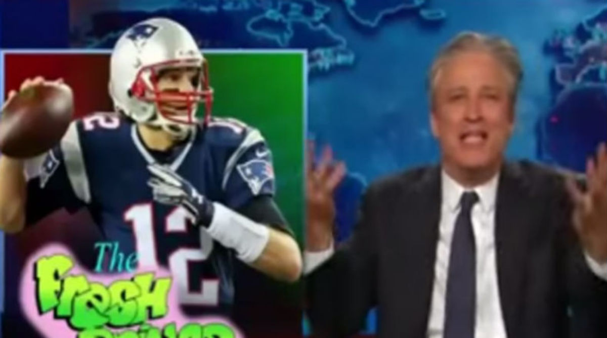 Jon Stewart Rips Tom Brady