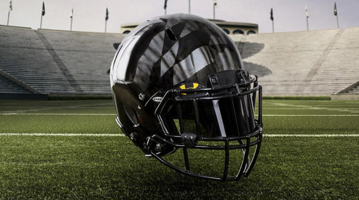 Maryland Terrapins black ops helmet