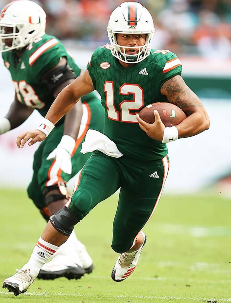 Miami Hurricanes QB Malik Rosier