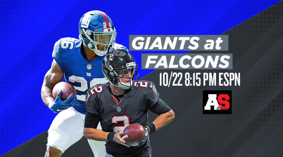 Monday Night Football: New York Giants vs. Atlanta Falcons Prediction and Preview