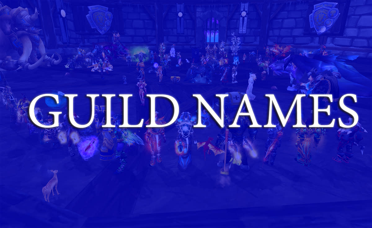 Cool Guild Names