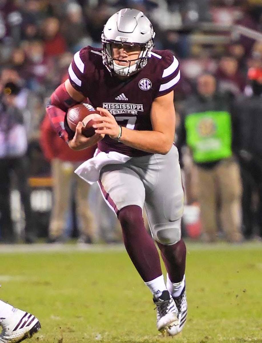 Mississippi State Bulldogs QB Nick Fitzgerald