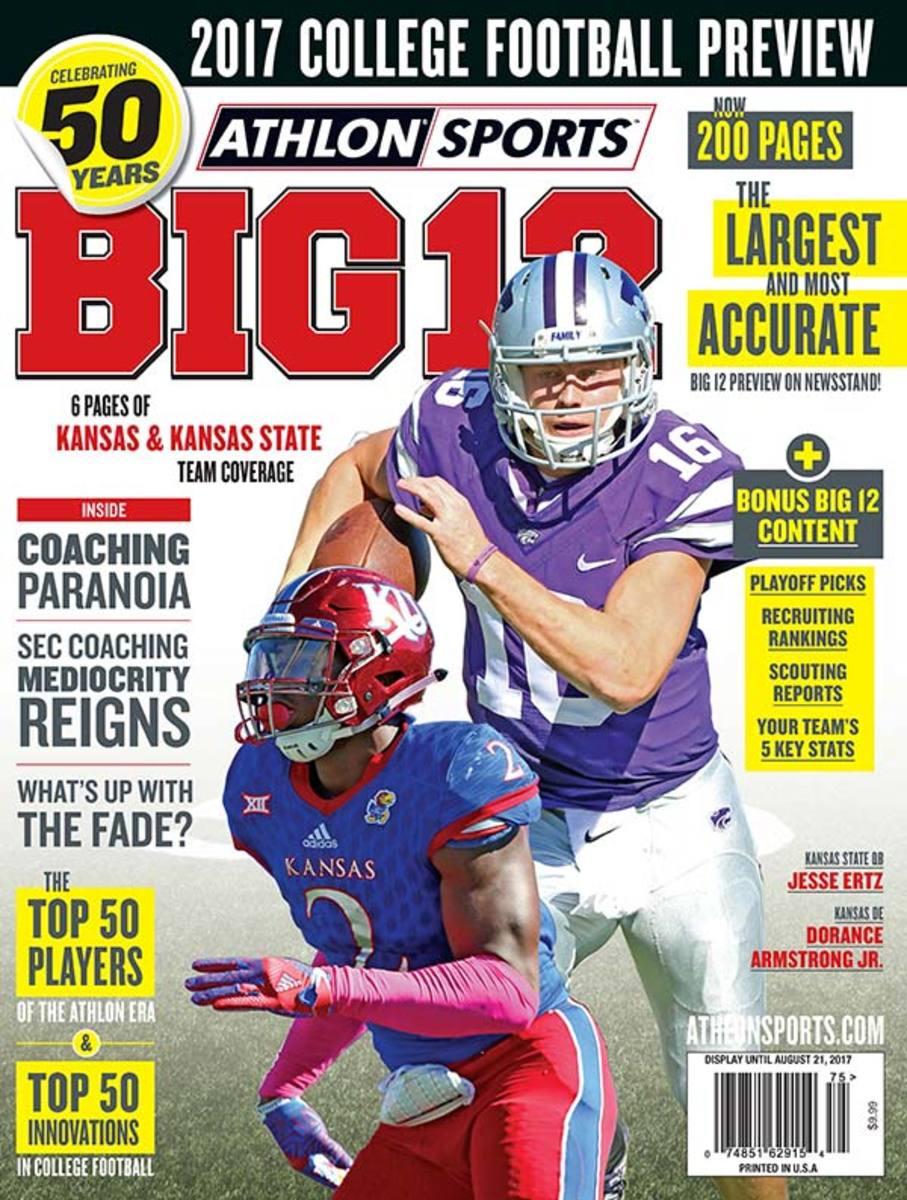 Kansas Football/Big 12 Magazine