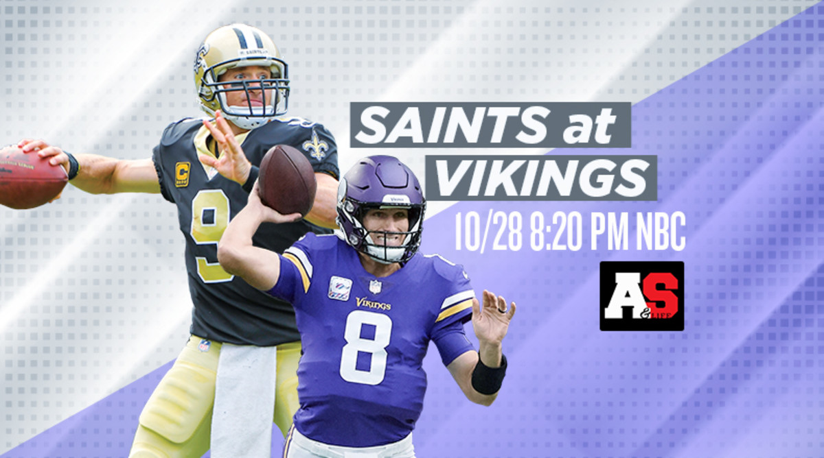 Sunday Night Football: New Orleans Saints vs. Minnesota Vikings Prediction and Preview