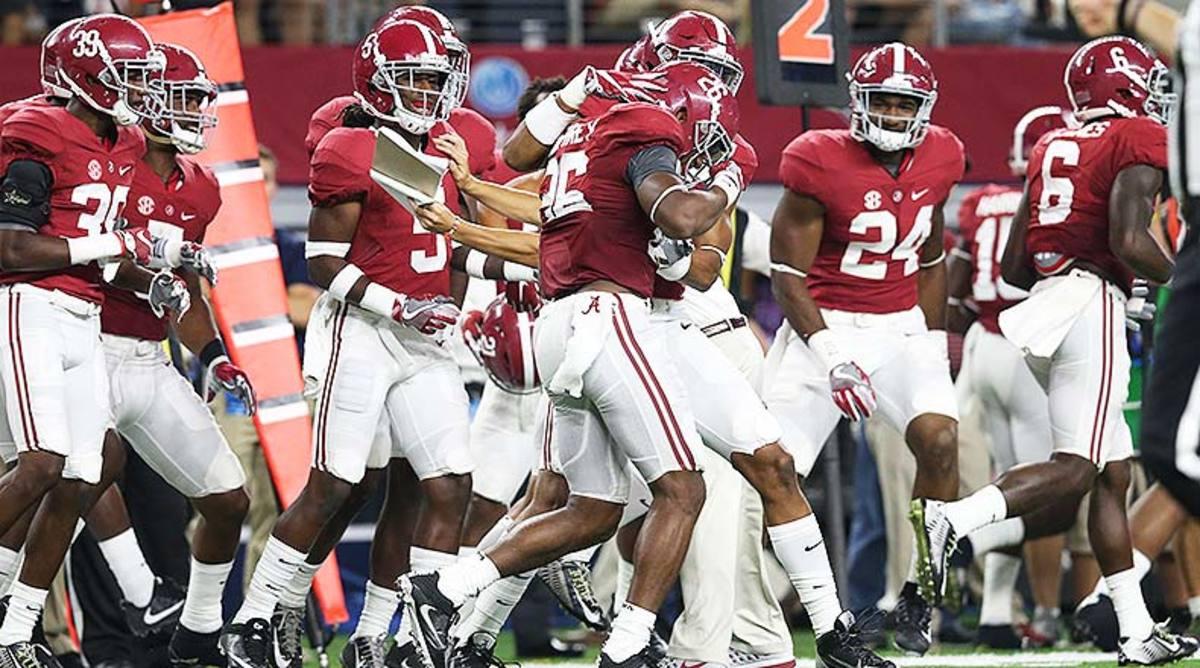 College Football Alabama Crimson Tide