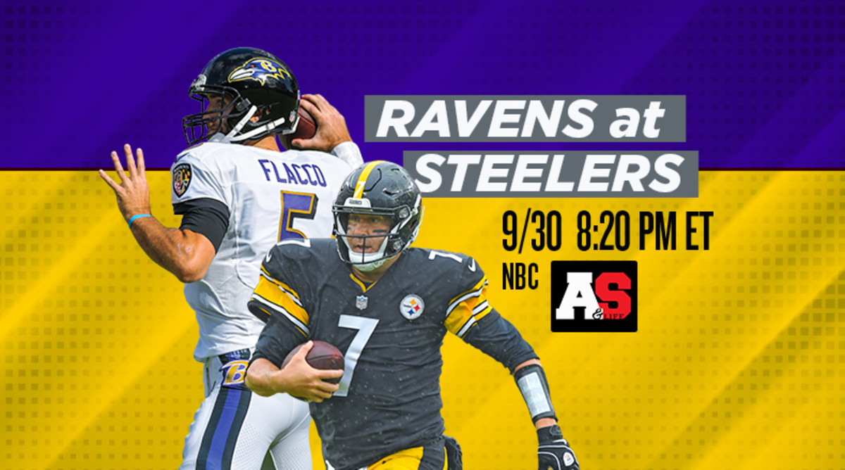 Sunday Night Football: Baltimore Ravens vs. Pittsburgh Steelers Prediction and Preview