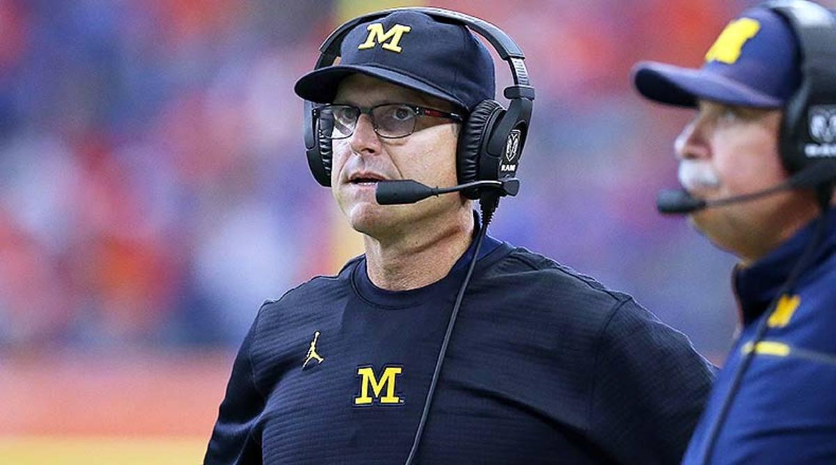 Michigan vs Michigan State: Jim Harbaugh