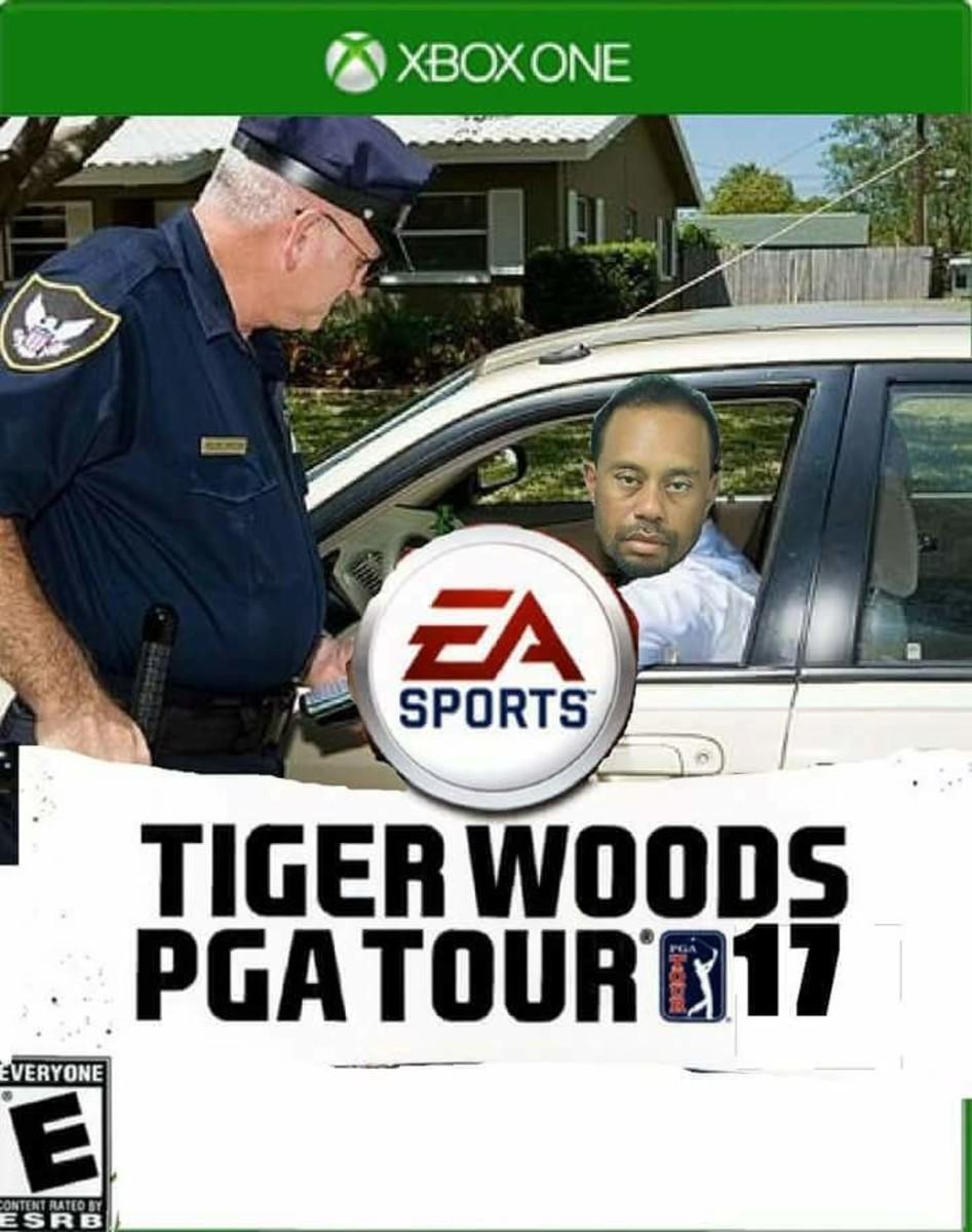 Tiger Woods Mugshot Memes