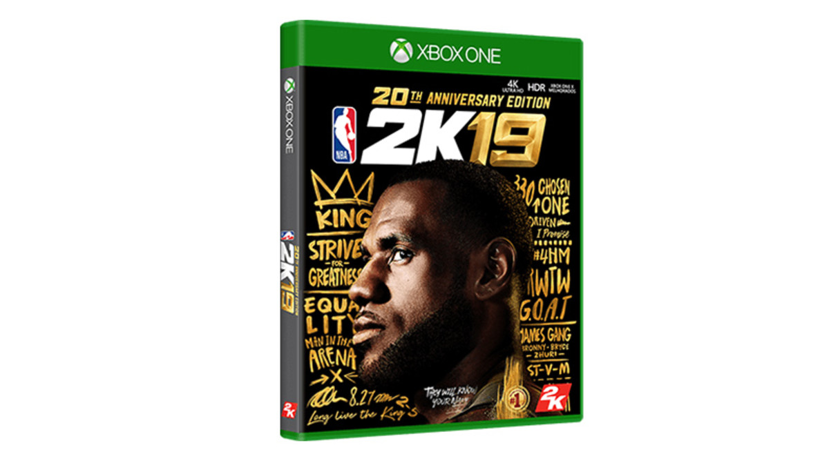 NBA2K19 20th Anniversary Edition