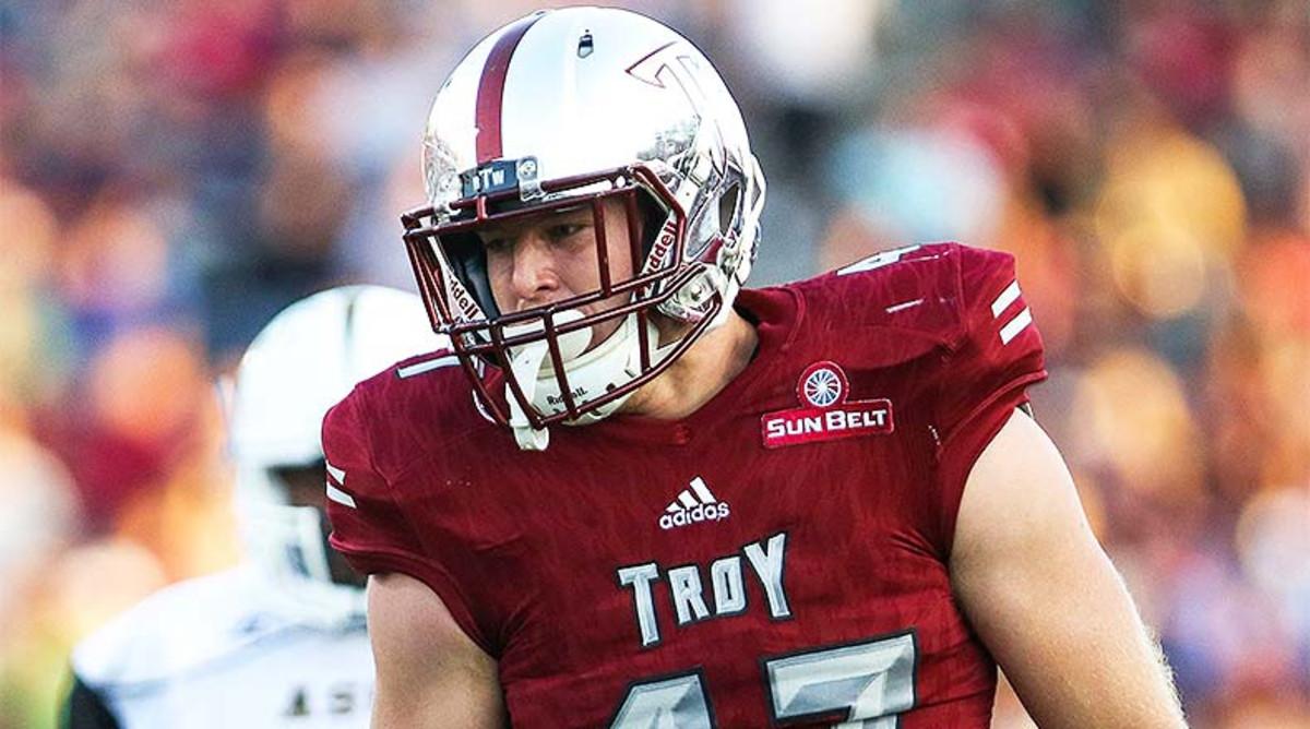 Hunter Reese, Troy Trojans Football