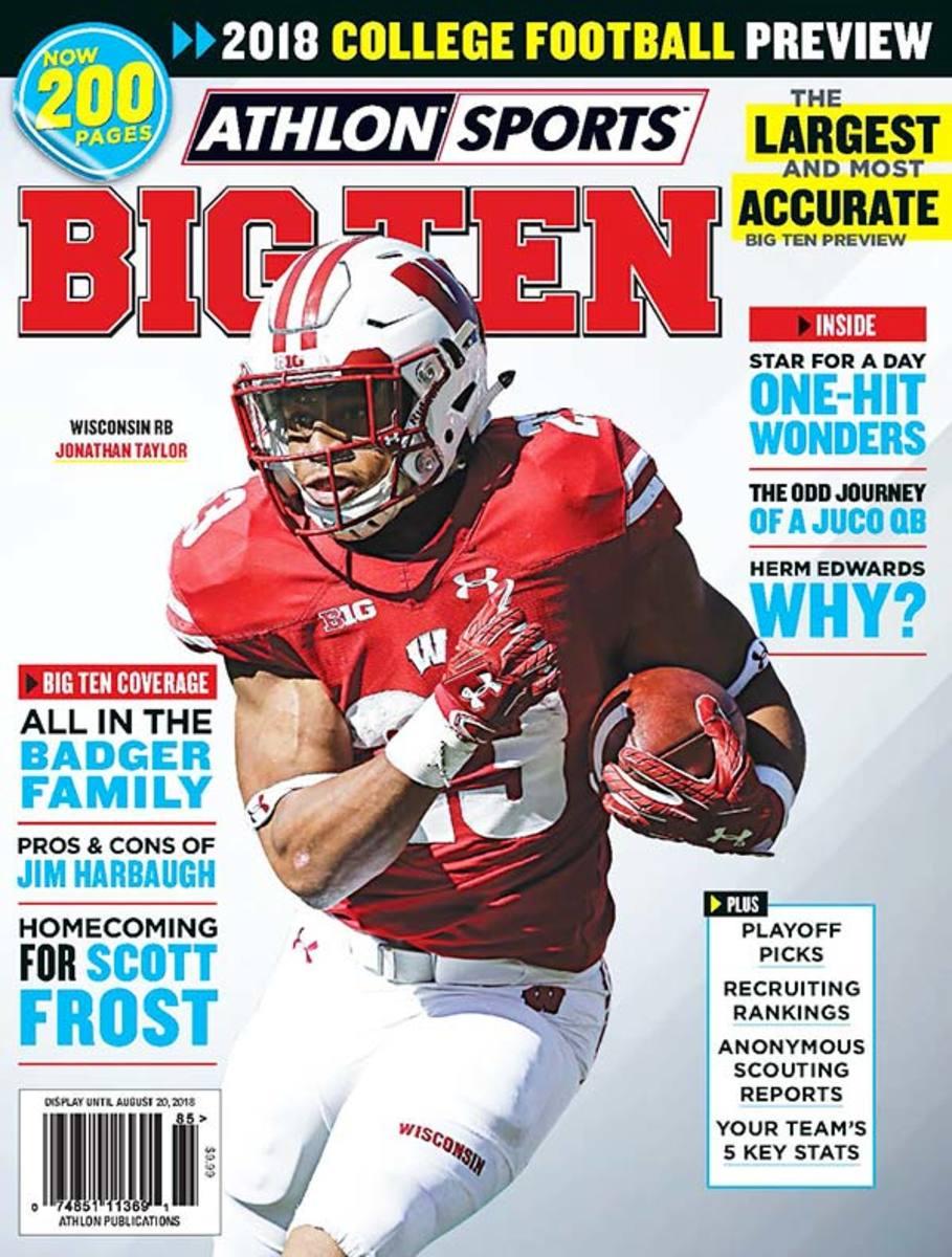 Wisconsin Football/Big Ten Magazine