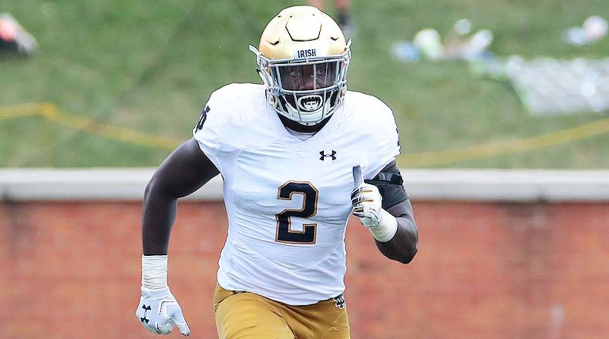 Notre Dame Football: A Different Fighting Irish Look Like Playoff Material