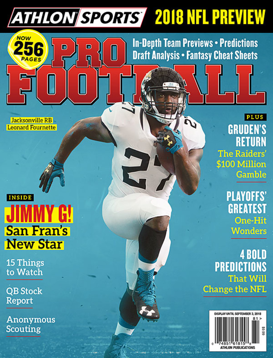 Athlon Sports 2018 Pro Football Magazine