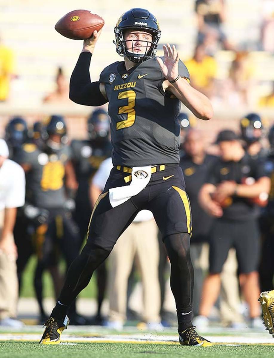 Missouri Tigers QB Drew Lock