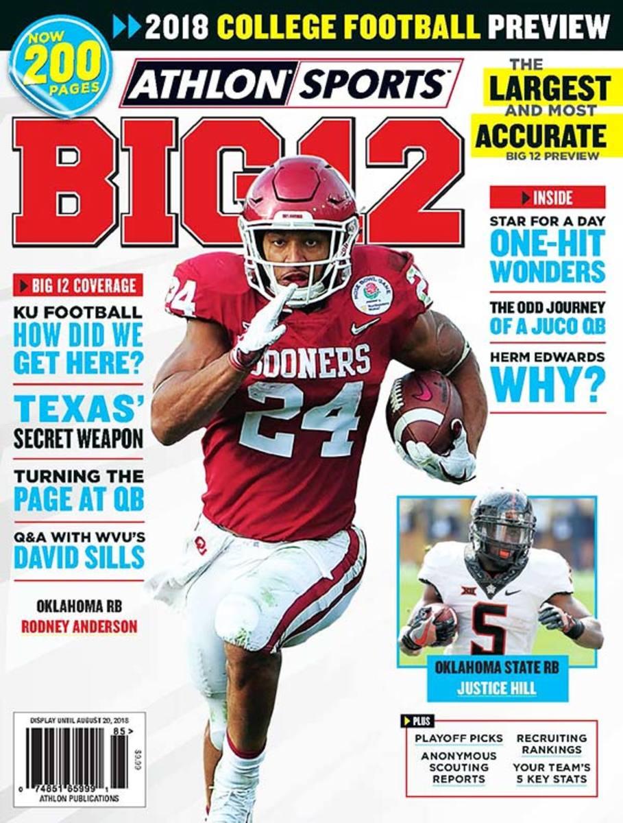 Oklahoma State Football/Big 12 Magazine