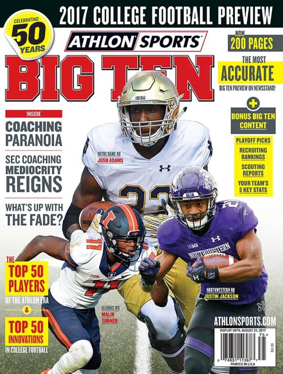 Northwestern Football/Big Ten Magazine