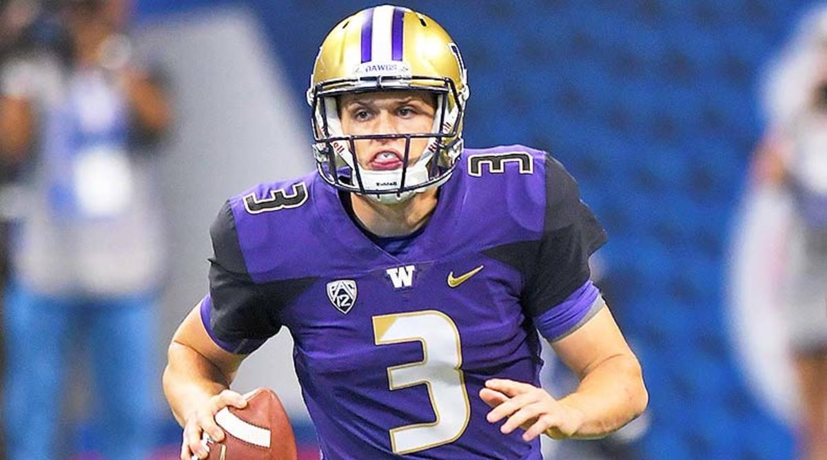 Washington Huskies QB Jake Browning
